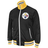 Pittsburgh Steelers Mitchell and Ness NFL Preseason Warm Up Track Jacket