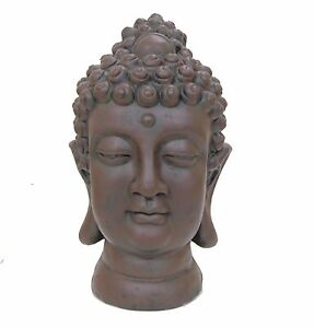 Image Is Loading Large Buddha Head Statue Ornament Indoor Outdoor Garden