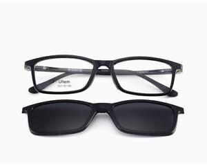 6df415333c β-Ultem Optical Eyeglasses Frames RX able Magnetic Clip On Polarized ...