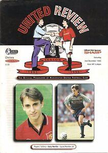 Manchester United v Chelsea  Premier League  199596 - Warrington, United Kingdom - Manchester United v Chelsea  Premier League  199596 - Warrington, United Kingdom