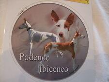 1 autocollant - motif chien  PODENCO