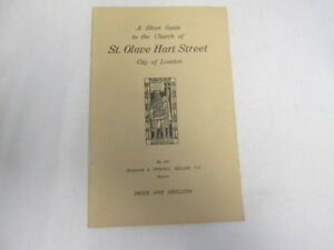 Good-A-short-guide-to-the-Church-of-St-Olave-Hart-Street-City-of-London-Mi