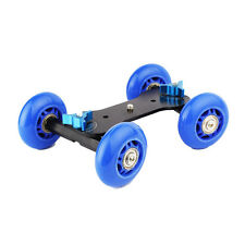 Neu Mini Track Auto Vierrad Mute Slider Track Stabilizer Für Video DSLR Kamera