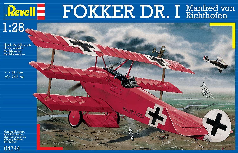 Fokker Dr.I Richthofen 1:28 Revell Model Kit