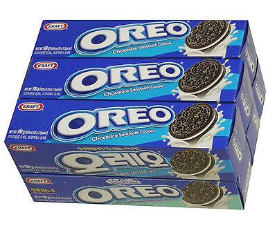OREO O's Chocolate Sandwich Cookies White 100 g x 6 Boxes