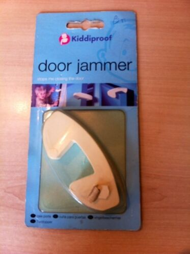 Kiddiproof door jammer