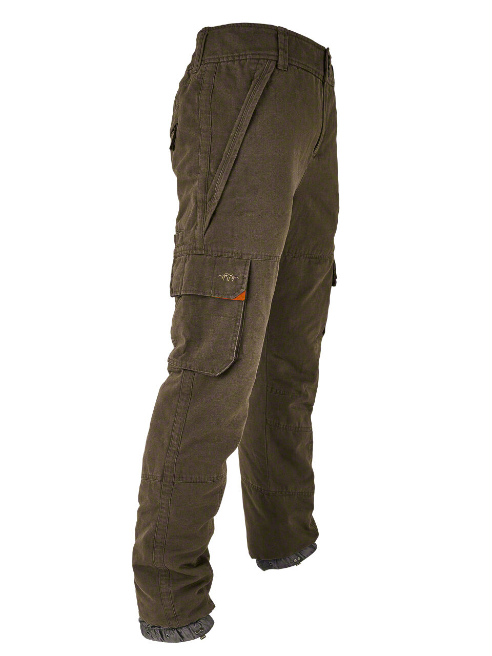 Blaser Winter Trousers Canvas Bernard Padded Thinsulate - Mud - 116069-117