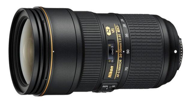 Nikon NIKKOR AF-S 24-70mm f2.8E ED VR Lens