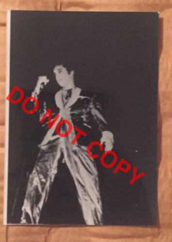 ELVIS CANDID BW ORIGINAL ON OLD KODAK PAPER Gold Lamee Suit