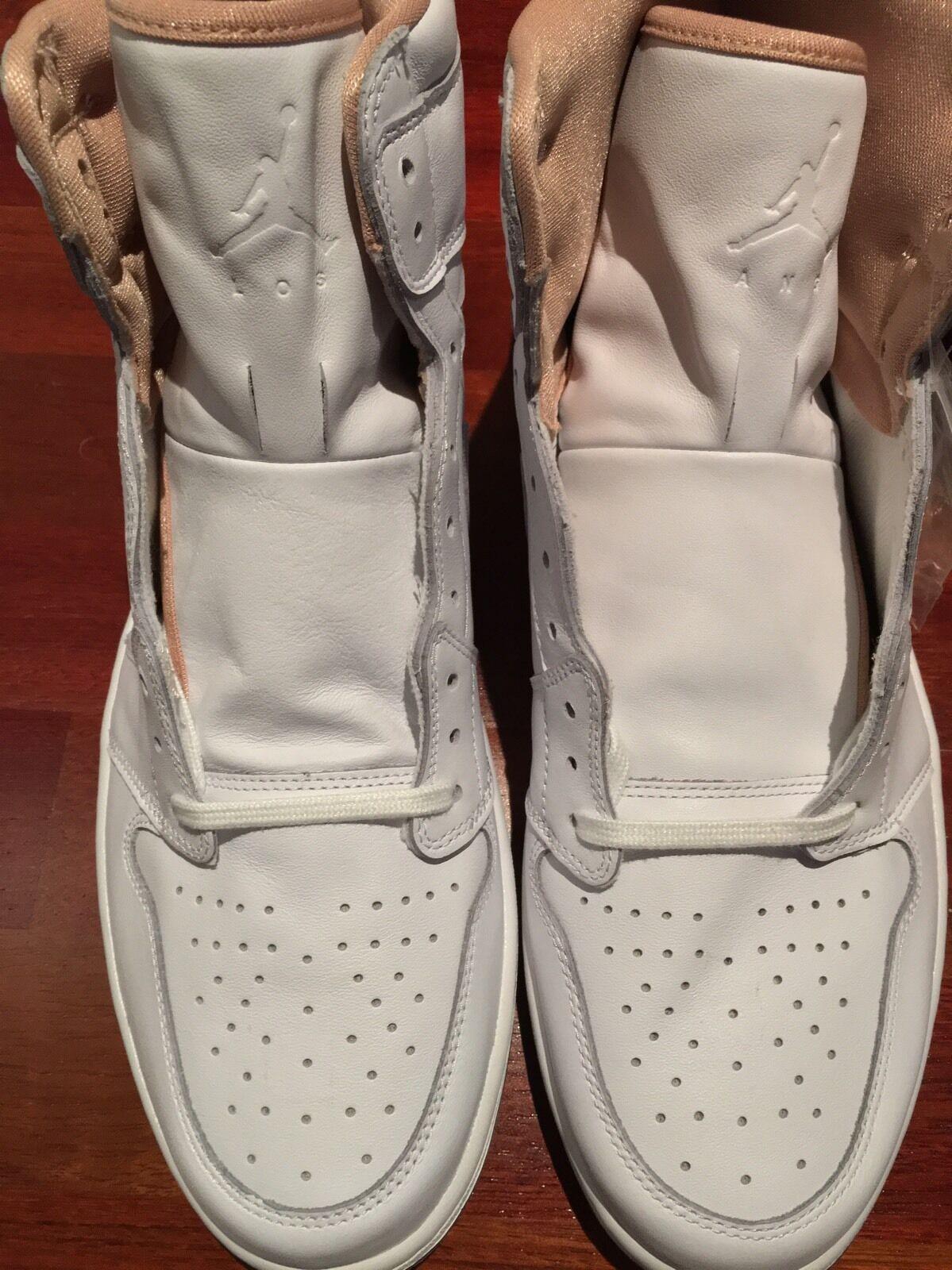 Men Nike Air Jordan 1 Retro High LA Sz 15 White 23 Los Angeles New 819012-130