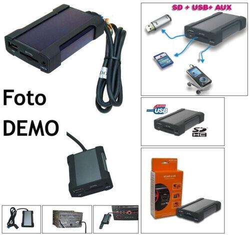 Xcarlink SD USB MP3 WMA per sola FIAT PANDA PANDA DAL 2012 AUTORADIO CONTINETAL