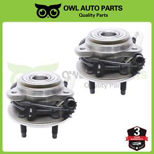 2-Front-Wheel-Bearing-amp-Hub-Bearing-Assy-For-2001-2009-Ford-Ranger-Mazda-4WD