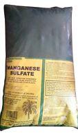 Manganese Sulfate Fertilizer - Contains Manganese As Metallic 27%- 25 Lbs.