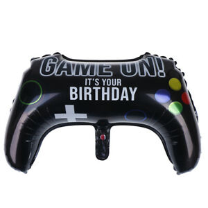 64-40cm-Gamepad-Shape-Foil-Balloon-Birthday-Party-Balloons-Decor-Kids-Toys-rs