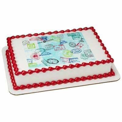 Gymnastics Birthday ~ Edible 2D Fondant Cake Cupcake Topper ~ D3075 *