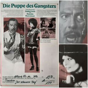 PUPPE DES GANGSTERS   1976 Kino Plakat A2   Sophia Loren Mastroianni Capitani