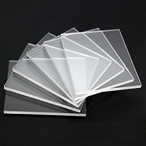1mm CLEAR ACRYLIC PLASTIC SHEETS PERSPEX A5 A6 A3 100*100 500*500 CUSTOM SIZE