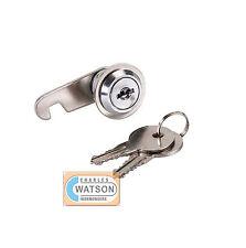 16mm CAM LOCK for Filing Cabinet Mailbox Drawer Cupboard Locker + Secure Keys