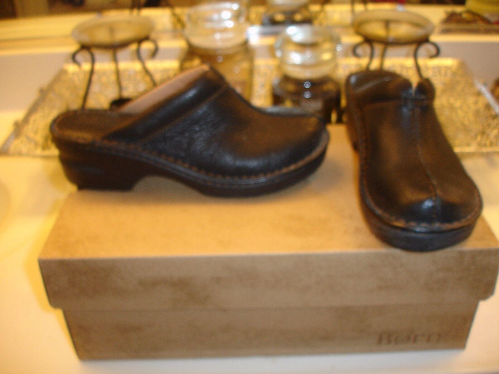 BOC Born Concept Mount II  mule slide comfortable Black leather 6  Nice  105