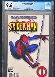 Details about Ultimate Spiderman 1 White Variant Cover CGC 9 6 Spider-man