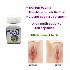 130 CAPSULES  NATURAL THAI GRASS REPAIR FIRM AND TIGHTENING AND FIT VAGINAL