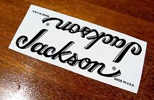 2 Jackson Strat Headstock Decals Waterslide Decal Vintage Guitar Stratocaster
