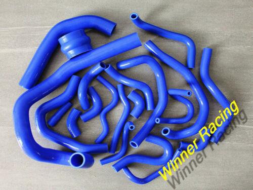 Silicone Radiator/&Ancilary Hose Fit TOYOTA SUPRA MA70 MK3 7M-GT//7MGTE turbo 3.0L