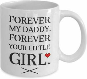 To My Dad From The Little Daughter Fathers Day Coffee Mug Funny Cup Gift For Men