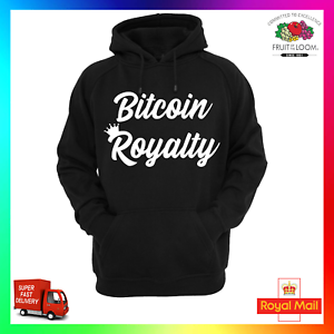 Details about Bitcoin Royalty Hoodie Hoody Hoodie xmas Funny Cool SHA256  Crypto Miner Mining