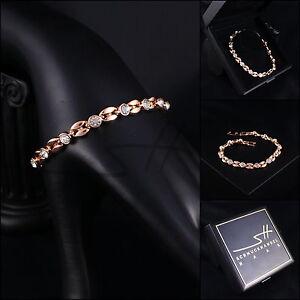 Armband-Armschmuck-Bracelet-Bohne-Rosegold-pl-Swarovski-Elements-Etui