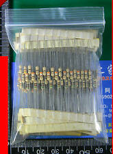 300pcs 30value 1ohm-3M 1/2W Carbon Film Resistor Assortment Kits#5497