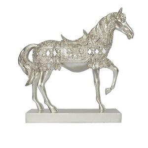 vintage silver horse statue figurine decorative ornaments home decor collection ebay. Black Bedroom Furniture Sets. Home Design Ideas