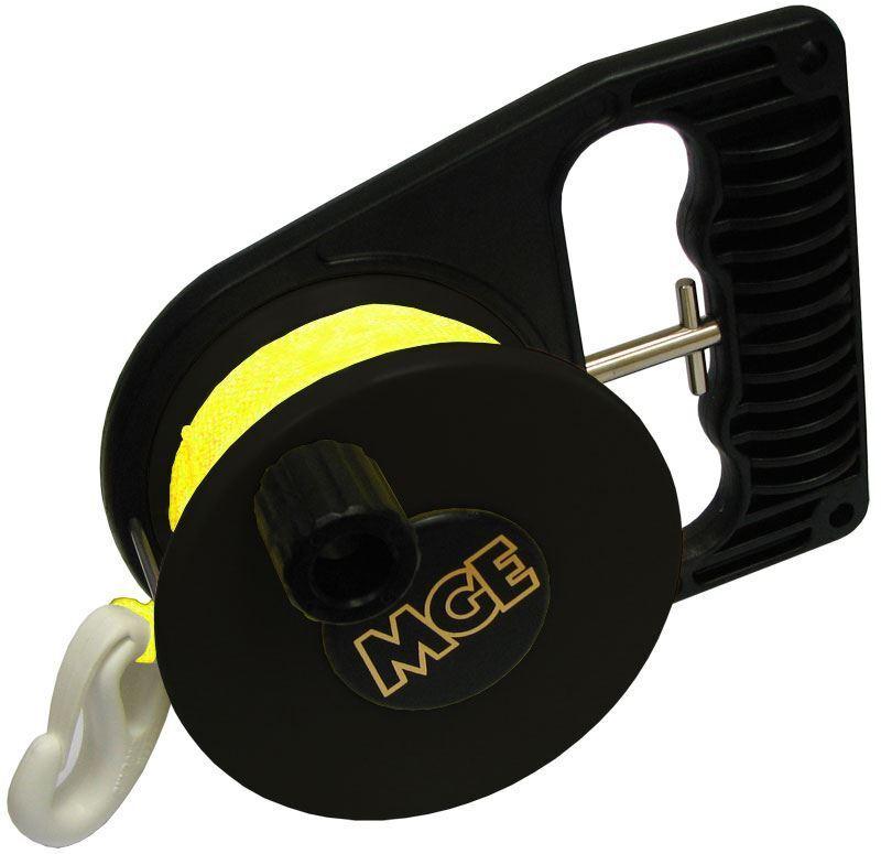 MGE Tec 100 Scuba Dive Reel - Fluorescent Line - Tough Durable and Lightweight