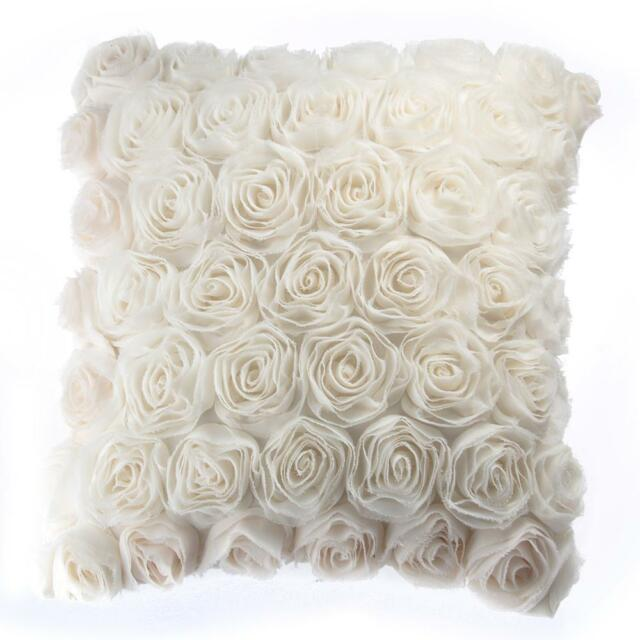 Sofa Throw Pillow Cushion Pillowcase Case Cover Home Decor Beige 40cm