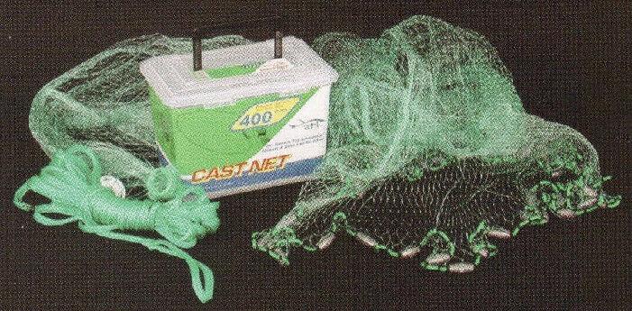 Ahi CN407 7 Ft Green 5 8  Premium Ube Monofilament Netting Cast Net 16114