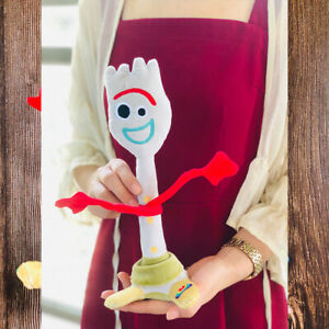 Disney-Toy-Story-4-Forky-Plush-Doll-toy-24cm-Kids-Gift