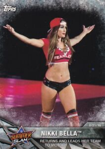 2017-Topps-Wwe-de-Mujer-Division-Mapas-Momments-WWE-3-Nikki-Bella