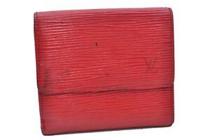 4e6b16a313a5 Image is loading Authentic-Louis-Vuitton-Epi-Portefeuille-Elise-Trifold- Wallet-