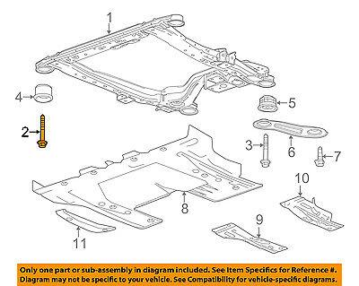 GM OEM Front Suspension-Engine Cradle Front Bolt 11570926