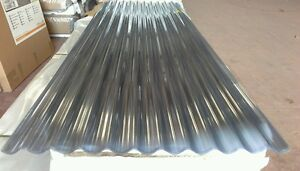 Palruf-PVC-3-034-Profile-Corrugated-Sheets-Clear-Various-Thickness-039-s-and-Lengths