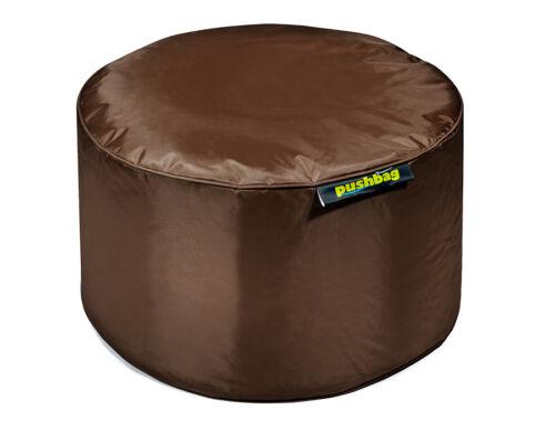 PUSHBAG Drum Sitzsack Hocker Tisch in 8 Farben Erfüllt DIN EN 71 2+3 Normen