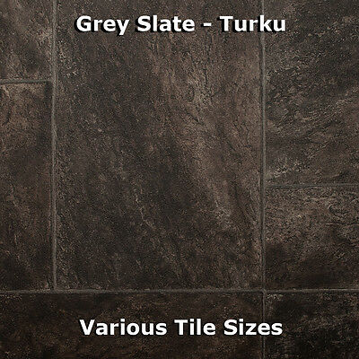 Quality Vinyl Flooring Roll CHEAP Wood & Tile Kitchen Bathroom Lino 2m / 3m / 4m