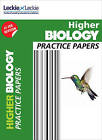 CfE Higher Biology Practice Papers for SQA Exams by John Di Mambro, Leckie & Leckie, Stuart M. White (Paperback, 2015)