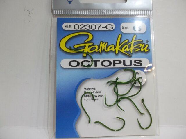 5packs Gamakatsu Size 6 BaitHolder Hooks 10//pack All New D77