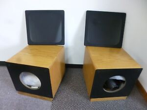 Details about SUB WOOFER CABINETS by EXOLABS Speaker Kits, Project Cabinets  fits NHT 1259