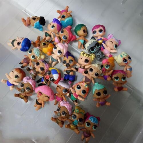 Real 10x Random LOL Surprise Doll Lil Sisters Unicorn Punk boi Bon Bon Dolls Toy