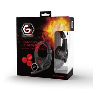 Gembird-GHS-01-GAMING-HEADSET-3-5-Klinke-schnurgebunden-On-Ear-Schwarz-STEREO