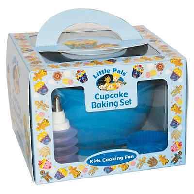 Little Pals Cupcake Baking Set Blue - Baking & Cooking Fun for Kids!