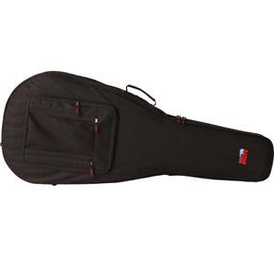 gator cases gl jumbo acoustic guitar hardcase gig bag with shoulder strap new ebay. Black Bedroom Furniture Sets. Home Design Ideas