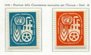 19030-UNITED-NATIONS-New-York-1959-MNH-Europe-Commission